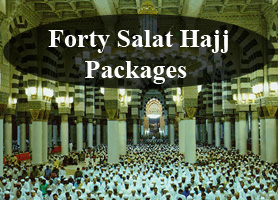 Forty Salat Hajj Package